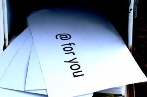 Post im Briefkasten