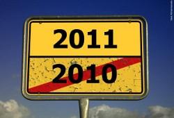 Jahreswelchsel: 2010 endet hier, 2011 beginnt! Auf ein frohes neues Jahr. (Quelle: gekreuzsiegt.de)