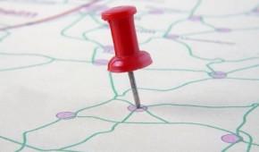 Pin auf Landkarte