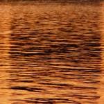 Sonnenuntergang auf dem Wasser sieht ziemlich gut aus