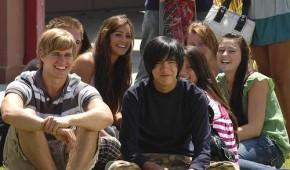 Jake mit Freunden