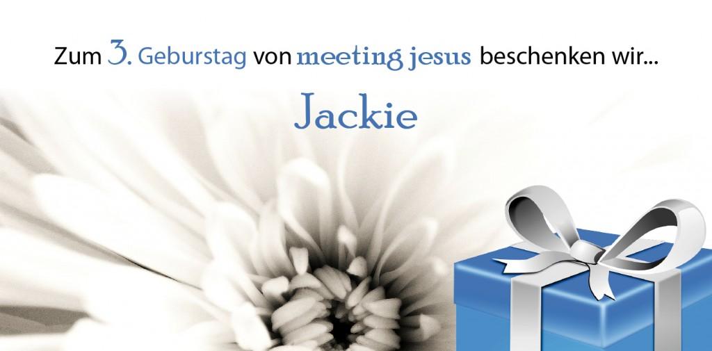 3 Jahre Meetin Jesus_Gewinnerin