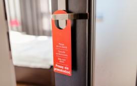 Do not disturb hotel door hanger on room doors. MORE FROM THIS SERIES IN MY PORTFOLIO