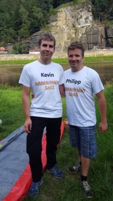Kevin und Philipp